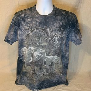 The Mountain Tie Dyed Elephant T-Shirt